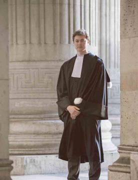 Robe Avocat Hiver-Homme V