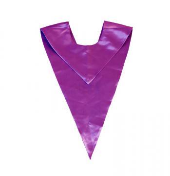 Echarpe en V - Violet