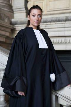 Robe Avocat Hiver-Femme V