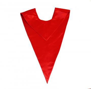 Echarpe en V - Rouge