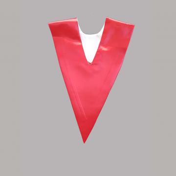 Vue de dos-Côté Rouge