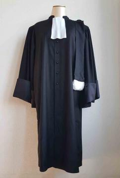 Robe avocat vue de face LD