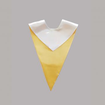 Vue de face-Côté Blanc-Echarpe V