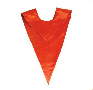 Echarpe en V - Orange